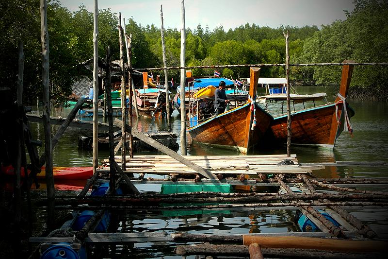 Thailand Lifestyle Tipp von Nathalie Gütermann. Koh Lanta Urlaub: Mangroven, Homestay, Kajak fahren