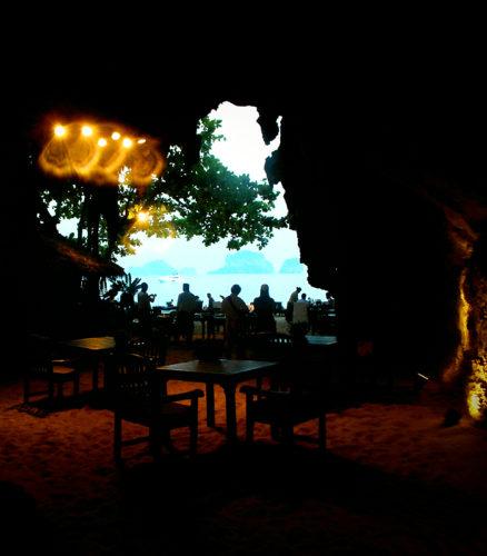 """Thailand Lifestyle""-Tipp von Nathalie Gütermann: ""The Grotto"" Restaurant, Phra Nang Bay, Krabi"