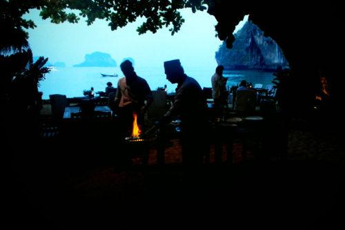"Höhlen-Restaurant ""The Grotto"" @ Rayavadee, Krabi"