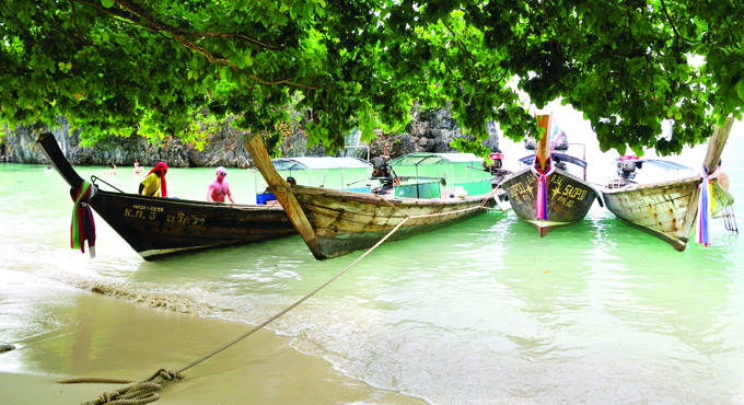 Koh Hong:  Krabis smaragdgrüner Inseltraum