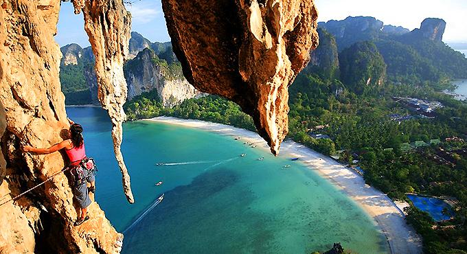 Krabi Abenteuer: Felsklettern & Klippenspringen