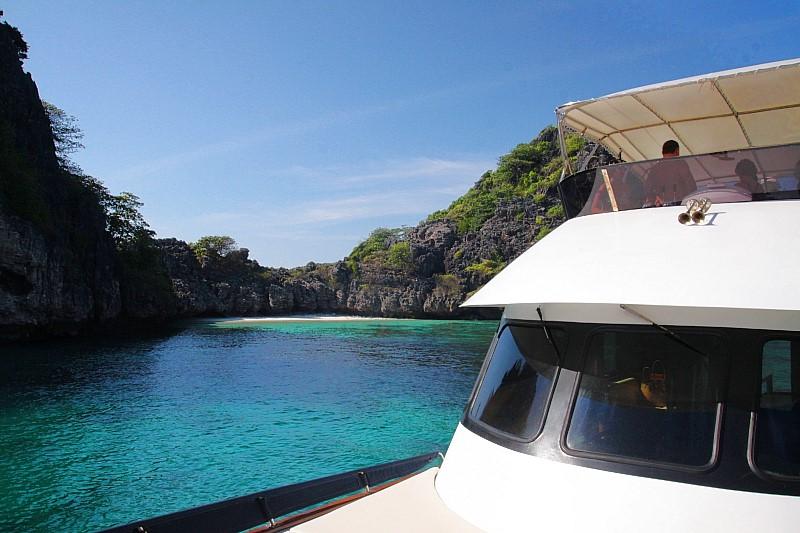 Thailand Lifestyle Tipp von Nathalie Gütermann: rund um Koh Haa schnorcheln gehen (Five Islands, 5 Inseln)