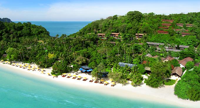 Phi Phi Island Nordspitze: Laem Tong Beach