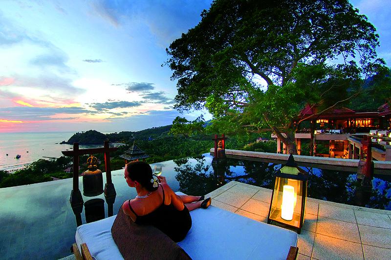 Thailand Motorradtour: Biker Trip nach Phuket mit Nathalie Gütermann. Hier: Pimalai Resort