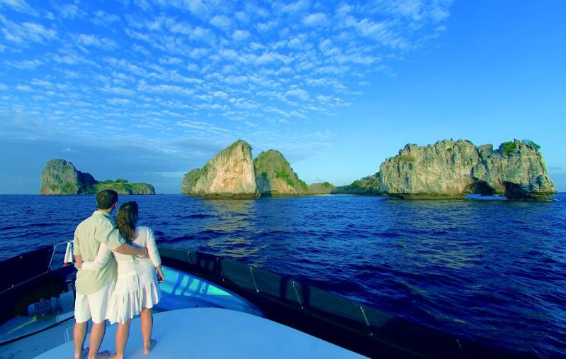 """Koh Haa Schnorcheln: Cruise zu den """"Fünf Inseln"""""""