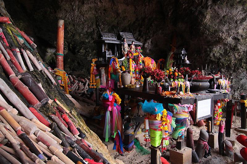 """""""Thailand Lifestyle""""-Tipp von Nathalie Gütermann:Höhle in der Phra Nang Bay, Krabi"""