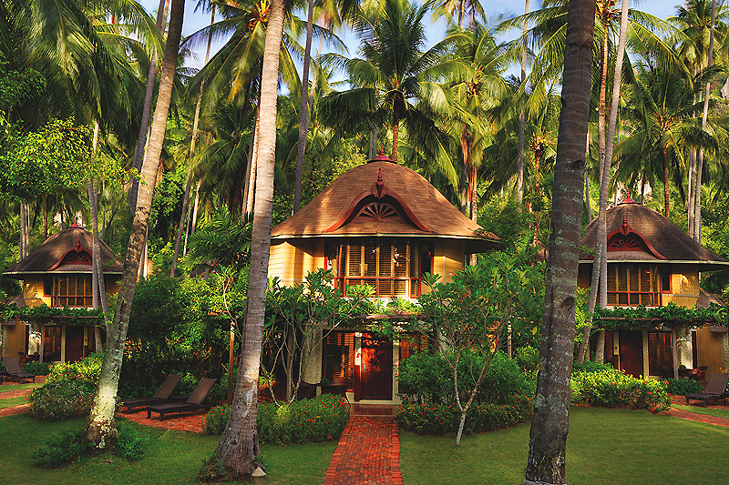 """Thailand Lifestyle""-Tipp von Nathalie Gütermann: Rayavadee Resort, Railey Beach, Krabi"