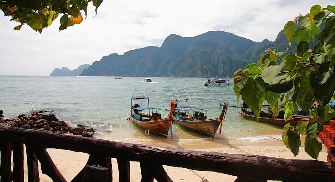 Tonsai Village, Koh Phi Phi: Phönix aus der Asche