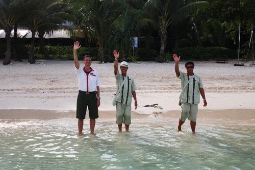 """""""""""Good bye""""! Es war soo schön im ZEAVOLA auf Phi Phi Island."""