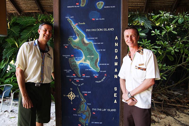 Auf Koh Phi Phi tauchen gehen! Das Zeavola organisiert Tauchtouren!