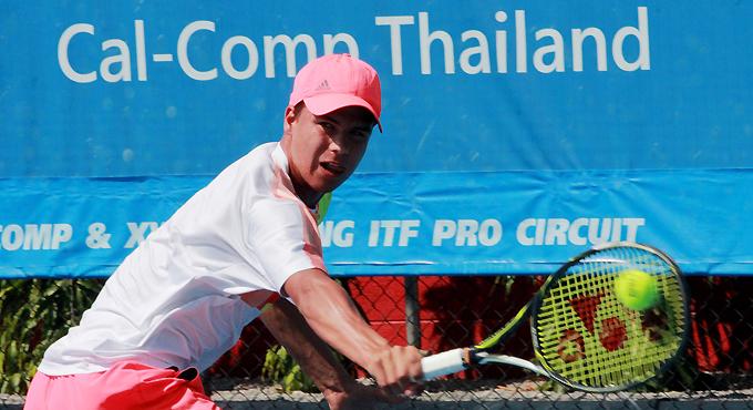 Nachwuchsstar im Tennis: Daniel Altmaier, der mit seinem Mental-Coach Markus Hornig aus Berlin gerne in Thailand trainiert.