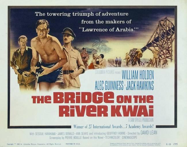 Verfilmtes Lebensdrama: Die Brücke am River Kwai
