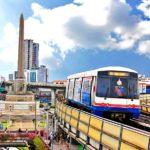 """""""Thailand Lifestyle"""" von Nathalie Gütermann: Thailand Informationen - Skytrain"""
