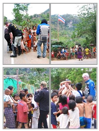 Thailand Motorradtour (2) mit Nathalie Gütermann