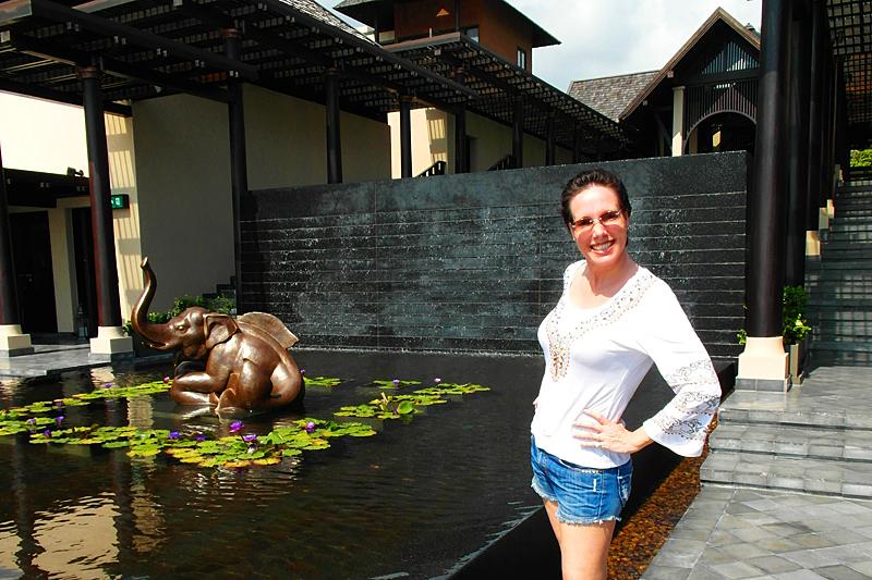 Nathalie im Vana Belle in Chaweng Noi auf Koh Samui