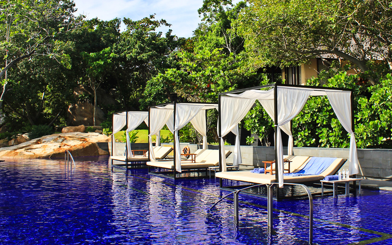 Das Top-Resort VANA BELLE Koh Samui am Chaweng Noi Beach