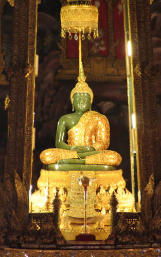 """Classic"" Tour: Königspalast Bangkok (Grand Palace). Hier: der Smaragd Buddha"