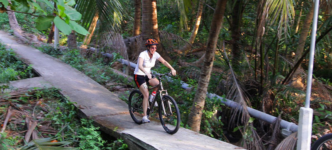 """""""Bangkok Insider Bike-Tour"""", organisiert von Nathalie Gütermann"""