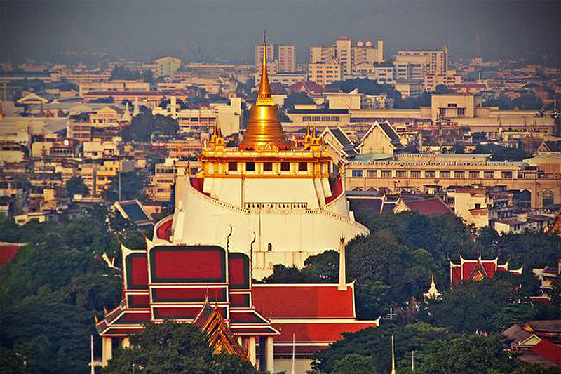 """""""Thailand Lifestyle""""-Tipp von Nathalie Gütermann: der """"Golden Mount"""" in der Altstadt von Bangkok (""""Rattanakosin Island"""")"""