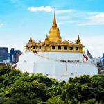"Thailand-Lifestyle.com - Classic Tour: ""Bangkoks Altstadt"". Hier der ""Golden Mount"" mit dem Wat Saket"