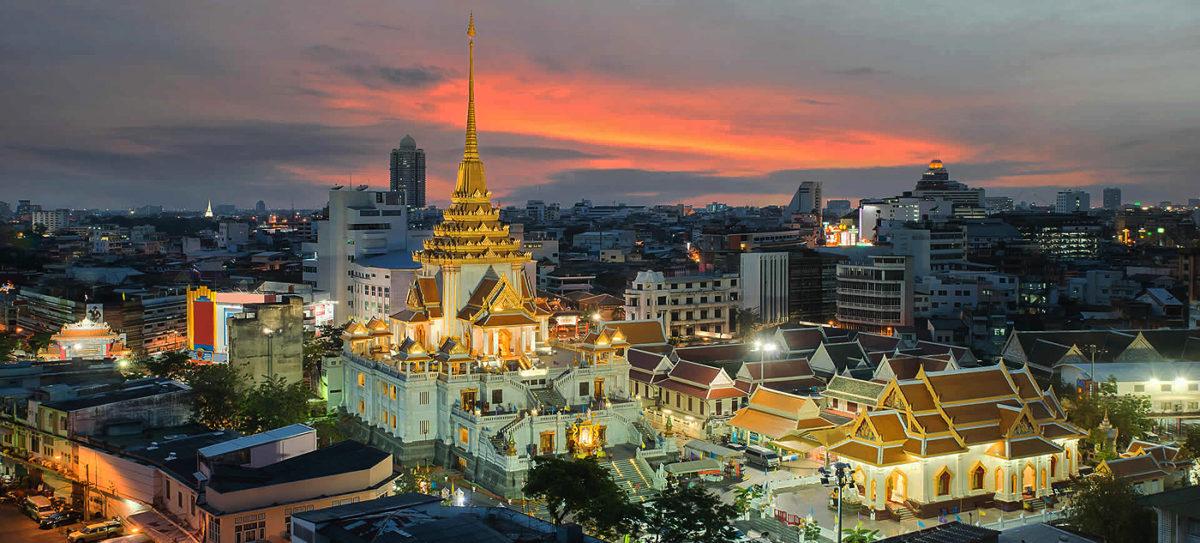 """Classic Tour"": Bangkok City & Tempel"