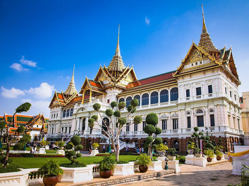"""""""Thailand Lifestyle""""-Tipp von Nathalie Gütermann: Der Königspalast in der Altstadt von Bangkok (""""Rattanakosin Island"""")"""