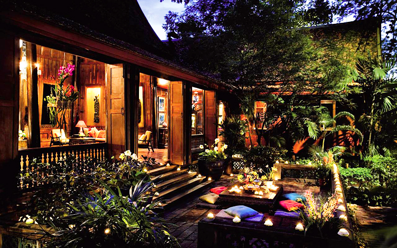 "Thailand-Lifestyle.com - Classic Tour: ""Jim Thompson House"""