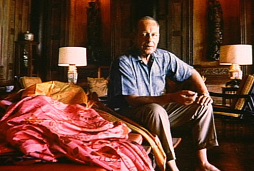 Jim Thompson in seinem Jim Thompson House Bangkok