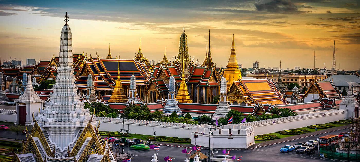 """Bangkok Classic"" Tour: Entdecken Sie den Königspalast (""Grand Palace""), die Residenz des Königs."