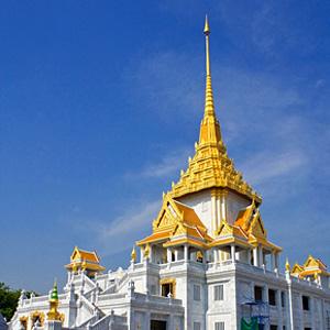 """Bangkok Classic"" Tour: City & Tempel. Hier: Wat Traimit"