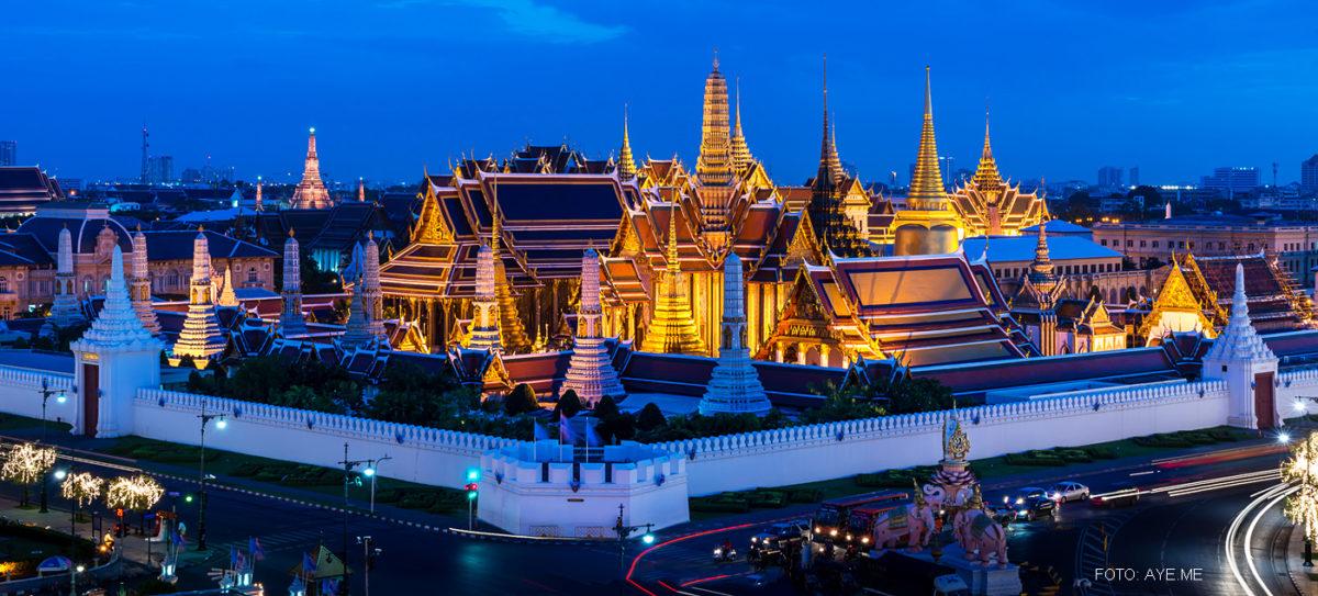 """""""Thailand Lifestyle""""-Tipp von Nathalie Gütermann: Besuchen Sie die Altstadt von Bangkok (""""Rattanakosin Island""""). Hier: der Königspalast!"""