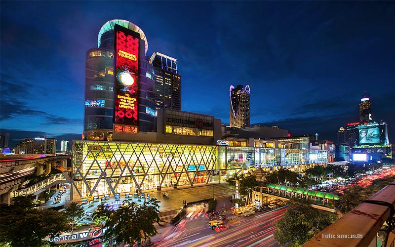 """""""Thailand Lifestyle""""-Tipp von Nathalie Gütermann: Bangkoks Stadtteile """"Siam Square & Pratunam"""". Hier: Central World Mall"""