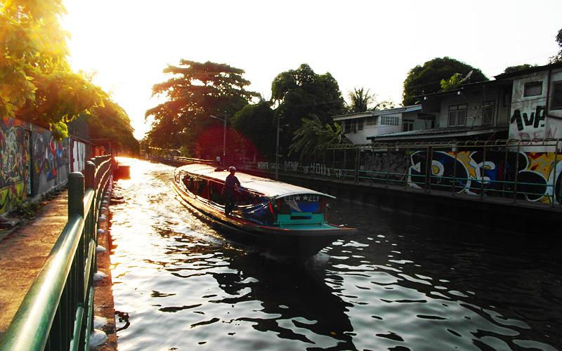 """Thailand Lifestyle""-Tipp von Nathalie Gütermann: Kanaltour am ""Chao Phraya River"", Bangkok"