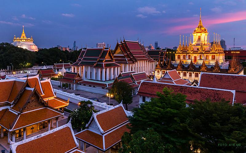 """""""Thailand Lifestyle""""-Tipp von Nathalie Gütermann: der Tempel """"Loha Prasat"""" in der Altstadt von Bangkok (""""Rattanakosin Island"""")"""