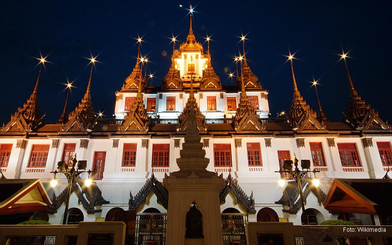 """""""Thailand Lifestyle""""-Tipp von Nathalie Gütermann: der """"Loha Prasat"""" - auch """"Eiserne Tempel"""" in der Altstadt von Bangkok (""""Rattanakosin Island"""")"""