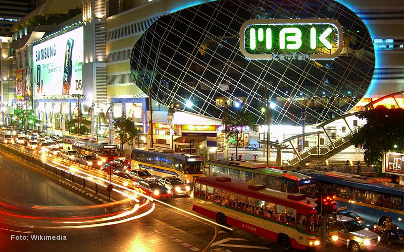 """""""Thailand Lifestyle""""-Tipp von Nathalie Gütermann: Bangkoks Stadtteile """"Siam Square & Pratunam"""" . Hier: die MBK Mall"""