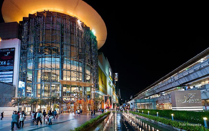 """Thailand Lifestyle""-Tipp von Nathalie Gütermann: Bangkoks Stadtteile ""Siam Square & Pratunam"". Hier: Siam Paragon Mall"