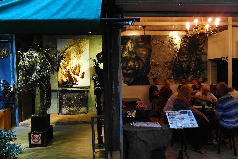 """""""Thailand Lifestyle""""-Tipp von Nathalie Gütermann: Die """"Art Soi"""" auf dem CHATUCHAK MARKT IN BANGKOK (""""Weekend Market"""")"""