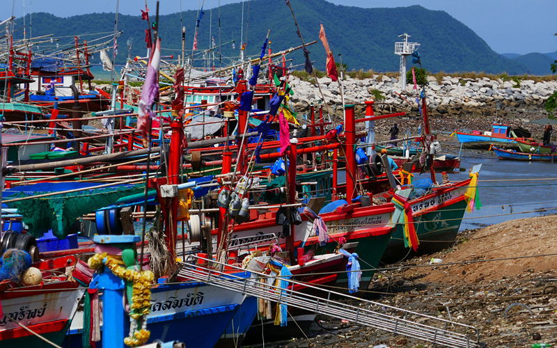 Der charmante Fischerhafen von