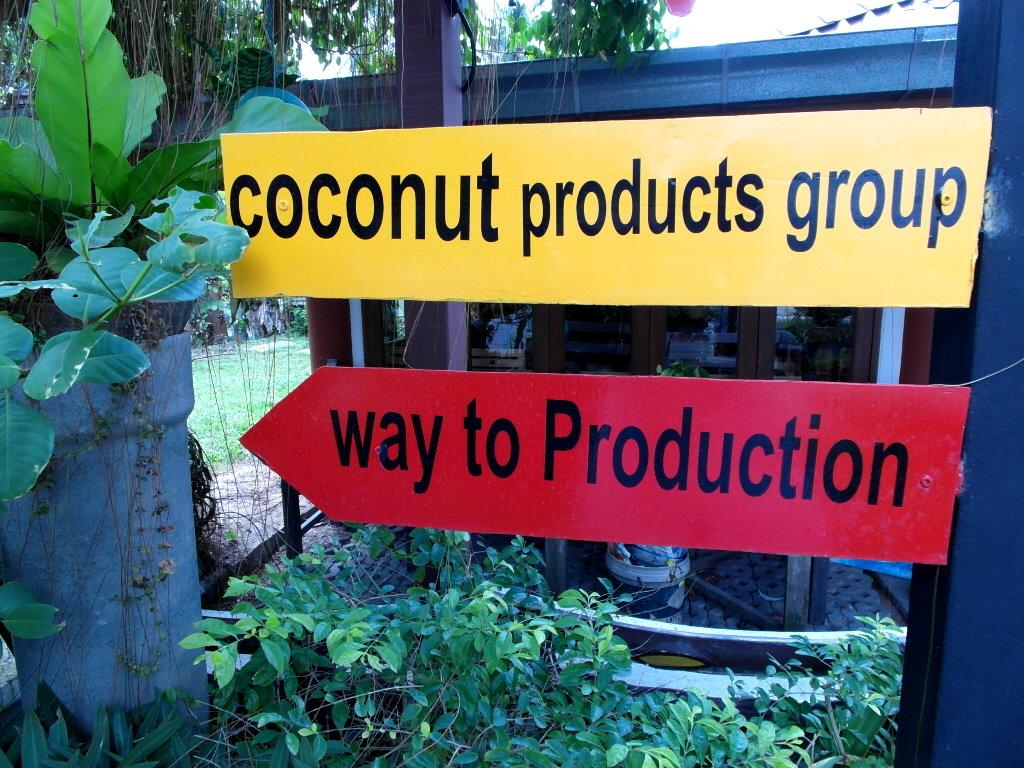 Die besten Koh Samui Tipps: Dazu gehört zum Beispiel die Werkstatt für Kokosnuss-Produkte.