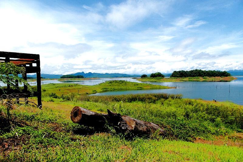 <p>... denn hier befindet sich Thailands Seenplatte.</p>