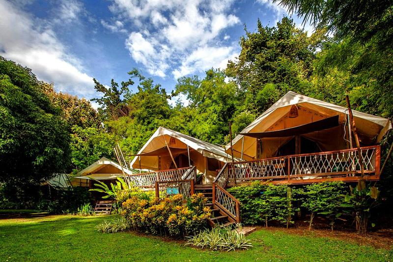 <p>Das HIN TOK RIVER CAMP ist weder ein Hotel noch ein übliches Ferien-Resort.  </p>