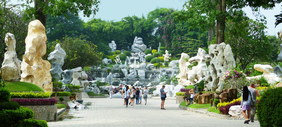 "Schönheiten in Stein: der ""Million Years Stone Park"" in Pattaya"