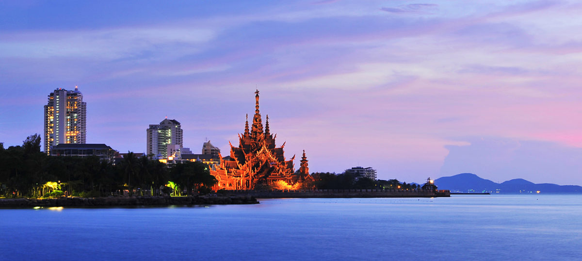 "Thailand Lifestyle Tipp von Nathalie Gütermann: ""Sanctuary of Truth"""" in Pattaya"