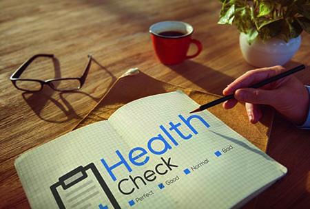 Für Ihre Gesundheit:<br/>Medizinischer Check-up