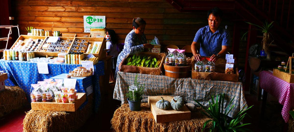 Khao Yai Farm Tour: Bezaubernder Bauernmarkt