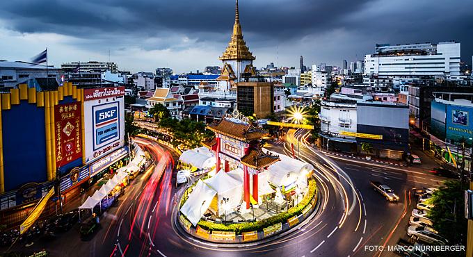 "Thailand-Lifestyle.com - Insider Tour: ""Bangkok bei Nacht & Streetfood"". Hier: Chinatown/Odeon Circle"