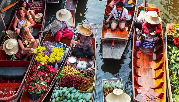 "Thailand-Lifestyle.com - Insider Tour ""Thai Lifestyle"": Damnoen Saduak Floating Market"