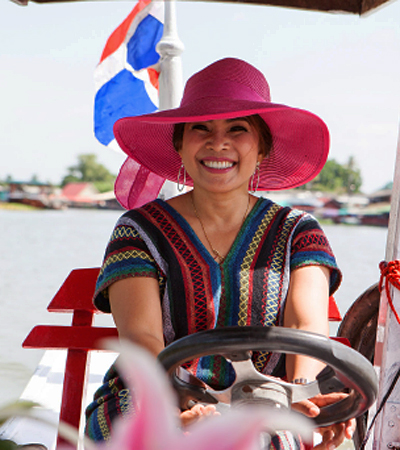 Thailand-Lifestyle.com - Insider Tour: Bootstour mit Gastgeberin Khun Aoy