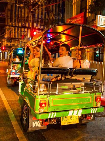"Thailand-Lifestyle.com ""Insider Tour"": Thai Food per Tuk Tuk"